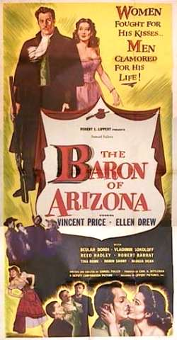Image result for movie baron of arizona